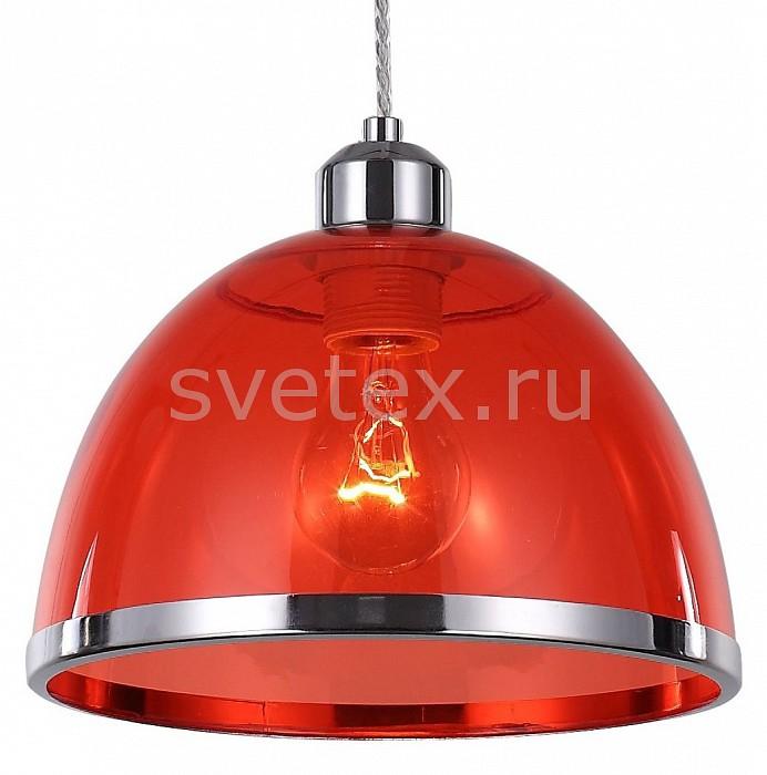 Подвесной светильник ST-LuceДля кухни<br>Артикул - SL481.603.01,Бренд - ST-Luce (Италия),Коллекция - SL481,Гарантия, месяцы - 24,Время изготовления, дней - 1,Высота, мм - 1200,Диаметр, мм - 230,Размер упаковки, мм - 740х500х690,Тип лампы - компактная люминесцентная [КЛЛ] ИЛИнакаливания ИЛИсветодиодная [LED],Общее кол-во ламп - 1,Напряжение питания лампы, В - 220,Максимальная мощность лампы, Вт - 60,Лампы в комплекте - отсутствуют,Цвет плафонов и подвесок - красный, хром,Тип поверхности плафонов - глянцевый, прозрачный,Материал плафонов и подвесок - металл, полимер,Цвет арматуры - хром,Тип поверхности арматуры - глянцевый,Материал арматуры - металл,Количество плафонов - 1,Возможность подлючения диммера - можно, если установить лампу накаливания,Тип цоколя лампы - E27,Класс электробезопасности - I,Степень пылевлагозащиты, IP - 20,Диапазон рабочих температур - комнатная температура,Дополнительные параметры - регулируется по высоте, способ крепления светильника к потолку – на монтажной пластине<br>
