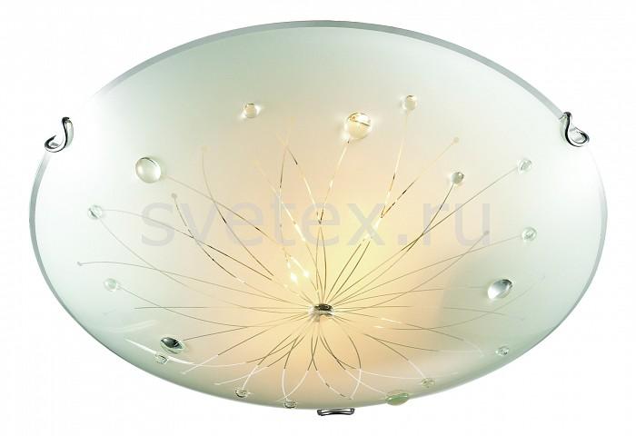 Накладной светильник SonexКруглые<br>Артикул - SN_305,Бренд - Sonex (Россия),Коллекция - Likia,Гарантия, месяцы - 24,Высота, мм - 100,Диаметр, мм - 500,Размер упаковки, мм - 150x520x520,Тип лампы - компактная люминесцентная [КЛЛ] ИЛИнакаливания ИЛИсветодиодная [LED],Общее кол-во ламп - 3,Напряжение питания лампы, В - 220,Максимальная мощность лампы, Вт - 100,Лампы в комплекте - отсутствуют,Цвет плафонов и подвесок - белый с рисунком, неокрашенный,Тип поверхности плафонов - матовый, прозрачный,Материал плафонов и подвесок - стекло,Цвет арматуры - хром,Тип поверхности арматуры - глянцевый,Материал арматуры - металл,Количество плафонов - 1,Возможность подлючения диммера - можно, если установить лампу накаливания,Тип цоколя лампы - E27,Класс электробезопасности - I,Общая мощность, Вт - 300,Степень пылевлагозащиты, IP - 20,Диапазон рабочих температур - комнатная температура,Дополнительные параметры - способ крепления светильника к потолку - на монтажной пластине<br>