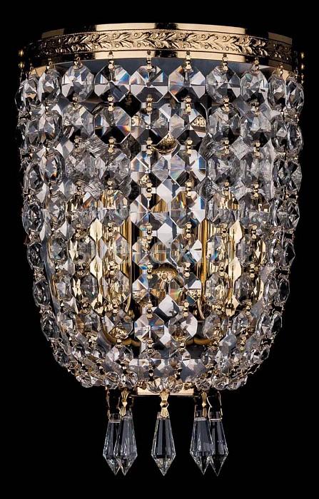 Фото Накладной светильник Bohemia Ivele Crystal 1927 1927/2/G