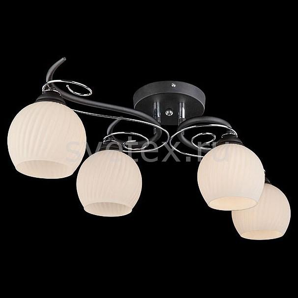 Потолочная люстра EurosvetЛюстры<br>Артикул - EV_73160,Бренд - Eurosvet (Китай),Коллекция - 70016,Гарантия, месяцы - 24,Высота, мм - 210,Диаметр, мм - 650,Тип лампы - компактная люминесцентная [КЛЛ] ИЛИнакаливания ИЛИсветодиодная [LED],Общее кол-во ламп - 4,Напряжение питания лампы, В - 220,Максимальная мощность лампы, Вт - 60,Лампы в комплекте - отсутствуют,Цвет плафонов и подвесок - белый полосатый,Тип поверхности плафонов - матовый, рельефный,Материал плафонов и подвесок - стекло,Цвет арматуры - черный, хром,Тип поверхности арматуры - глянцевый, матовый,Материал арматуры - металл,Количество плафонов - 4,Возможность подлючения диммера - можно, если установить лампу накаливания,Тип цоколя лампы - E14,Класс электробезопасности - I,Общая мощность, Вт - 240,Степень пылевлагозащиты, IP - 20,Диапазон рабочих температур - комнатная температура,Дополнительные параметры - способ крепления светильника к потолку - на монтажной пластине<br>