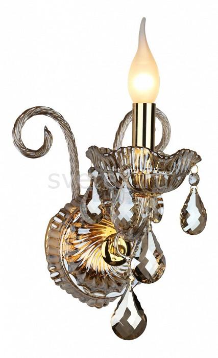 Бра OmniluxС 1 лампой<br>Артикул - OM_OML-76801-01,Бренд - Omnilux (Италия),Коллекция - OML-768,Гарантия, месяцы - 24,Ширина, мм - 220,Высота, мм - 350,Выступ, мм - 220,Тип лампы - компактная люминесцентная [КЛЛ] ИЛИнакаливания ИЛИсветодиодная [LED],Общее кол-во ламп - 1,Напряжение питания лампы, В - 220,Максимальная мощность лампы, Вт - 40,Лампы в комплекте - отсутствуют,Цвет плафонов и подвесок - коричневый,Тип поверхности плафонов - прозрачный,Материал плафонов и подвесок - хрусталь,Цвет арматуры - коричневый,Тип поверхности арматуры - глянцевый, прозрачный, рельефный,Материал арматуры - металл, стекло,Возможность подлючения диммера - можно, если установить лампу накаливания,Форма и тип колбы - свеча ИЛИ свеча на ветру,Тип цоколя лампы - E14,Экономичнее лампы накаливания - Ошибка:508,Класс электробезопасности - I,Степень пылевлагозащиты, IP - 20,Диапазон рабочих температур - комнатная температура,Дополнительные параметры - способ крепления светильника на стене – на монтажной пластине, светильник предназначен для использования со скрытой проводкой<br>