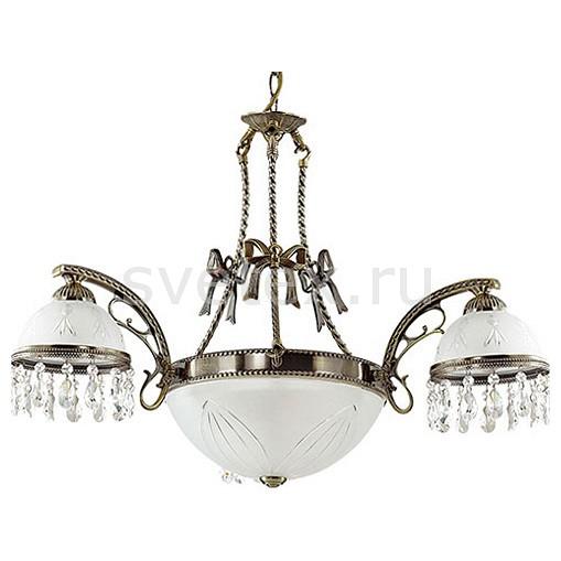 Подвесная люстра LumionЛюстры<br>Артикул - LMN_2989_5A,Бренд - Lumion (Италия),Коллекция - Avifa,Гарантия, месяцы - 24,Высота, мм - 900,Диаметр, мм - 590,Размер упаковки, мм - 320x370x370,Тип лампы - компактная люминесцентная [КЛЛ] ИЛИнакаливания ИЛИсветодиодная [LED],Общее кол-во ламп - 5,Напряжение питания лампы, В - 220,Максимальная мощность лампы, Вт - 60,Лампы в комплекте - отсутствуют,Цвет плафонов и подвесок - белый с рисунком и каймой, неокрашенный,Тип поверхности плафонов - матовый, прозрачный,Материал плафонов и подвесок - стекло, хрусталь,Цвет арматуры - бронза состаренная,Тип поверхности арматуры - матовый, рельефный,Материал арматуры - металл,Количество плафонов - 4,Возможность подлючения диммера - можно, если установить лампу накаливания,Тип цоколя лампы - E27,Класс электробезопасности - I,Общая мощность, Вт - 300,Степень пылевлагозащиты, IP - 20,Диапазон рабочих температур - комнатная температура,Дополнительные параметры - способ крепления к потолку - на крюке, регулируется по высоте<br>