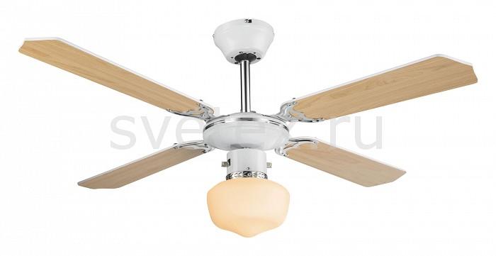 Светильник с вентилятором GloboКруглые<br>Артикул - GB_03300,Бренд - Globo (Австрия),Коллекция - Sargantana,Гарантия, месяцы - 24,Высота, мм - 440,Диаметр, мм - 1070,Тип лампы - компактная люминесцентная [КЛЛ] ИЛИнакаливания ИЛИсветодиодная [LED],Общее кол-во ламп - 1,Напряжение питания лампы, В - 220,Максимальная мощность лампы, Вт - 60,Лампы в комплекте - отсутствуют,Цвет плафонов и подвесок - белый,Тип поверхности плафонов - матовый,Материал плафонов и подвесок - стекло,Цвет арматуры - белый, коричневый, хром,Тип поверхности арматуры - глянцевый, матовый,Материал арматуры - МДФ, металл,Количество плафонов - 1,Возможность подлючения диммера - можно, если установить лампу накаливания,Компоненты, входящие в комплект - вентилятор,Тип цоколя лампы - E27,Класс электробезопасности - I,Общая мощность, Вт - 115,Степень пылевлагозащиты, IP - 20,Диапазон рабочих температур - комнатная температура,Дополнительные параметры - светильник с вентилятором:напряжения питания вентилятора 230 Вмощность вентилятора 55 Вт3 скорости вращения вентилятора, оптимально для помещения 10 кв.м<br>