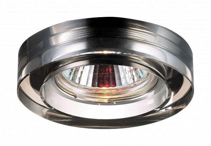 Фото Встраиваемый светильник Novotech Glass 369478