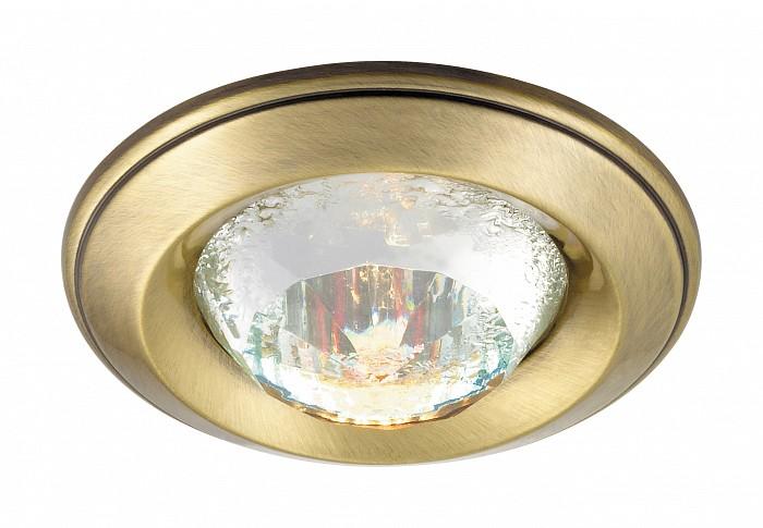 Встраиваемый светильник NovotechВстраиваемые светильники<br>Артикул - NV_369649,Бренд - Novotech (Венгрия),Коллекция - Glam,Гарантия, месяцы - 24,Время изготовления, дней - 1,Глубина, мм - 20,Диаметр, мм - 80,Размер врезного отверстия, мм - 68,Тип лампы - галогеновая ИЛИсветодиодная [LED],Общее кол-во ламп - 1,Напряжение питания лампы, В - 12,Максимальная мощность лампы, Вт - 50,Лампы в комплекте - отсутствуют,Цвет плафонов и подвесок - неокрашенный,Тип поверхности плафонов - прозрачный, рельефный,Материал плафонов и подвесок - хрусталь,Цвет арматуры - бронза,Тип поверхности арматуры - глянцевый,Материал арматуры - алюминиевое литье,Количество плафонов - 1,Возможность подлючения диммера - можно, если установить галогеновую лампу,Форма и тип колбы - полусферическая с рефлектором ИЛИполусферическая с радиатором,Тип цоколя лампы - GX5.3,Экономичнее лампы накаливания - на 50%,Класс электробезопасности - I,Напряжение питания, В - 220,Степень пылевлагозащиты, IP - 20,Диапазон рабочих температур - комнатная температура,Дополнительные параметры - возможна установка лампы GX5.3 (MR-16) на 12 В с подключением через трансформатор 12 В<br>