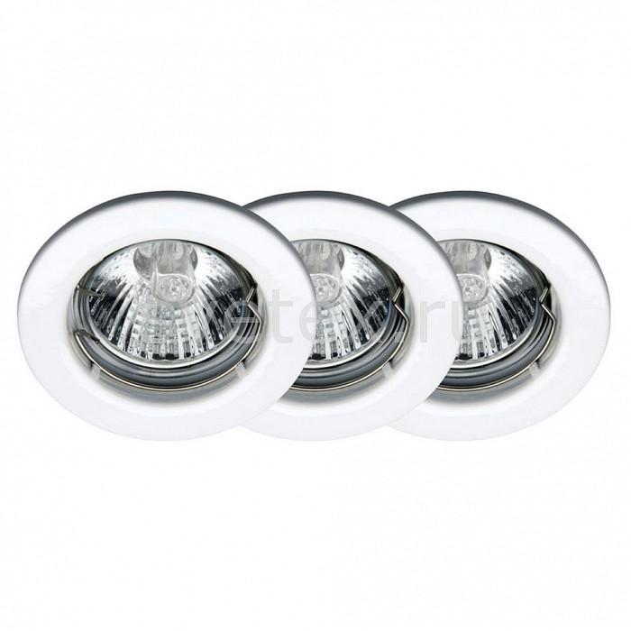 Фото Комплект из 3 встраиваемых светильников Brilliant Classic G94504/05