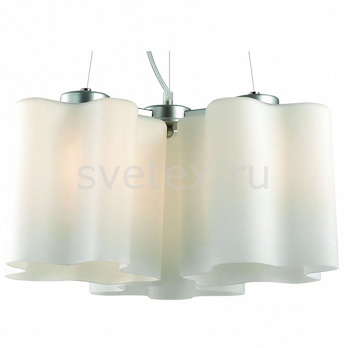 Подвесная люстра ST-LuceЛюстры<br>Артикул - SL116.503.03,Бренд - ST-Luce (Италия),Коллекция - Onde,Гарантия, месяцы - 24,Время изготовления, дней - 1,Высота, мм - 1200,Диаметр, мм - 460,Тип лампы - компактная люминесцентная [КЛЛ] ИЛИнакаливания ИЛИсветодиодная [LED],Общее кол-во ламп - 3,Напряжение питания лампы, В - 220,Максимальная мощность лампы, Вт - 60,Лампы в комплекте - отсутствуют,Цвет плафонов и подвесок - белый,Тип поверхности плафонов - матовый,Материал плафонов и подвесок - стекло,Цвет арматуры - серебро,Тип поверхности арматуры - матовый,Материал арматуры - металл,Количество плафонов - 3,Возможность подлючения диммера - можно, если установить лампу накаливания,Тип цоколя лампы - E27,Класс электробезопасности - I,Общая мощность, Вт - 180,Степень пылевлагозащиты, IP - 20,Диапазон рабочих температур - комнатная температура,Дополнительные параметры - способ крепления светильника к потолку – на монтажной пластине<br>