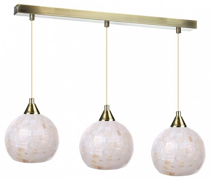 Подвесной светильник 33 идеиСветодиодные<br>Артикул - ZZ_PND.102.03.01.AB-S.10_3,Бренд - 33 идеи (Россия),Коллекция - AB_S.10,Длина, мм - 710,Ширина, мм - 150,Высота, мм - 890,Размер упаковки, мм - 560x80x60, 3*160x160x140,Тип лампы - компактная люминесцентная [КЛЛ] ИЛИнакаливания ИЛИсветодиодная [LED],Общее кол-во ламп - 3,Напряжение питания лампы, В - 220,Максимальная мощность лампы, Вт - 60,Лампы в комплекте - отсутствуют,Цвет плафонов и подвесок - перламутровый,Тип поверхности плафонов - матовый, рельефный,Материал плафонов и подвесок - стекло,Цвет арматуры - латунь античная,Тип поверхности арматуры - глянцевый,Материал арматуры - металл,Количество плафонов - 3,Возможность подлючения диммера - можно, если установить лампу накаливания,Тип цоколя лампы - E14,Класс электробезопасности - I,Общая мощность, Вт - 180,Степень пылевлагозащиты, IP - 20,Диапазон рабочих температур - комнатная температура,Дополнительные параметры - основания светильника 560х55 мм, диаметр плафона 150 мм, способ крепления светильника к потолку – на монтажной пластине<br>