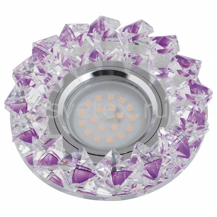 Встраиваемый светильник UnielСтеклянные<br>Примечание - фиолетовый,Артикул - UL_10552,Бренд - Uniel (Китай),Коллекция - Peonia,Гарантия, месяцы - 24,Высота, мм - 40,Выступ, мм - 20,Глубина, мм - 20,Диаметр, мм - 100,Размер врезного отверстия, мм - d60,Тип лампы - светодиодная (LED), галогеновая,Общее кол-во ламп - 1,Напряжение питания лампы, В - 12,Максимальная мощность лампы, Вт - 50,Лампы в комплекте - отсутствуют,Цвет плафонов и подвесок - фиолетовый,Тип поверхности плафонов - прозрачный,Материал плафонов и подвесок - стекло,Цвет арматуры - хром,Тип поверхности арматуры - глянцевый,Материал арматуры - металл,Возможность подлючения диммера - можно, если установить галогеновую лампу,Компоненты, входящие в комплект - Трансформатор 12 В,Форма и тип колбы - полусферическая с рефлектором,Тип цоколя лампы - GU5.3,Класс электробезопасности - I,Напряжение питания, В - 220,Степень пылевлагозащиты, IP - 20,Диапазон рабочих температур - комнатная температура<br>