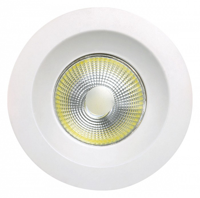 Встраиваемый светильник MantraВстраиваемые светильники<br>Артикул - MN_C0046,Бренд - Mantra (Испания),Коллекция - Basico,Гарантия, месяцы - 24,Глубина, мм - 45,Диаметр, мм - 95,Размер врезного отверстия, мм - 75,Тип лампы - светодиодная [LED],Общее кол-во ламп - 1,Максимальная мощность лампы, Вт - 5,Цвет лампы - белый,Лампы в комплекте - светодиодная [LED],Цвет арматуры - белый,Тип поверхности арматуры - матовый,Материал арматуры - дюралюминий,Цветовая температура, K - 4000 K,Световой поток, лм - 450,Экономичнее лампы накаливания - в 9.2 раза,Светоотдача, лм/Вт - 90,Класс электробезопасности - II,Напряжение питания, В - 220,Степень пылевлагозащиты, IP - 23,Диапазон рабочих температур - комнатная температура<br>