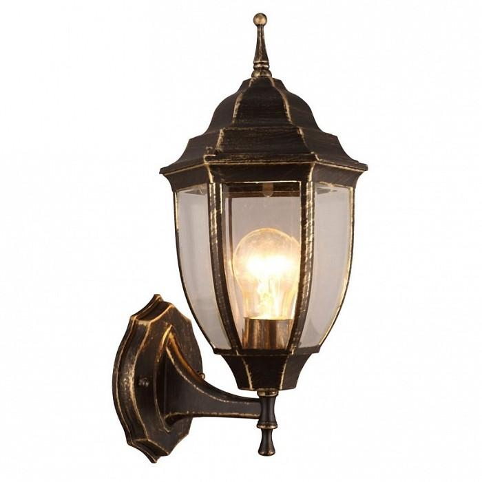 Светильник на штанге Arte LampСветильники<br>Артикул - AR_A3151AL-1BN,Бренд - Arte Lamp (Италия),Коллекция - Pegasus,Гарантия, месяцы - 24,Ширина, мм - 160,Высота, мм - 360,Выступ, мм - 180,Тип лампы - компактная люминесцентная [КЛЛ] ИЛИнакаливания ИЛИсветодиодная [LED],Общее кол-во ламп - 1,Напряжение питания лампы, В - 220,Максимальная мощность лампы, Вт - 60,Лампы в комплекте - отсутствуют,Цвет плафонов и подвесок - неокрашенный,Тип поверхности плафонов - прозрачный,Материал плафонов и подвесок - стекло,Цвет арматуры - черный с золотой патиной,Тип поверхности арматуры - матовый,Материал арматуры - металл,Количество плафонов - 1,Тип цоколя лампы - E27,Класс электробезопасности - I,Степень пылевлагозащиты, IP - 44,Диапазон рабочих температур - от -40^C до +40^C,Дополнительные параметры - способ крепления светильника к стене - на монтажной пластине<br>