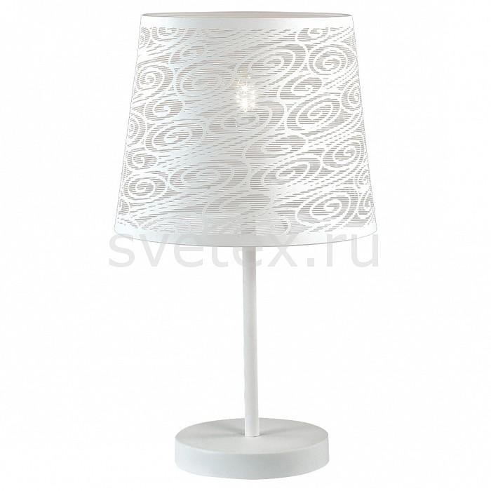 Настольная лампа FavouriteСветильники<br>Артикул - FV_1602-1T,Бренд - Favourite (Германия),Коллекция - Wendel,Гарантия, месяцы - 24,Высота, мм - 440,Диаметр, мм - 250,Тип лампы - компактная люминесцентная [КЛЛ] ИЛИнакаливания ИЛИсветодиодная [LED],Общее кол-во ламп - 1,Напряжение питания лампы, В - 220,Максимальная мощность лампы, Вт - 40,Лампы в комплекте - отсутствуют,Цвет плафонов и подвесок - белый,Тип поверхности плафонов - матовый,Материал плафонов и подвесок - металл,Цвет арматуры - белый,Тип поверхности арматуры - матовый,Материал арматуры - металл,Количество плафонов - 1,Наличие выключателя, диммера или пульта ДУ - выключатель на проводе,Компоненты, входящие в комплект - провод электропитания с вилкой без заземления,Тип цоколя лампы - E27,Класс электробезопасности - II,Степень пылевлагозащиты, IP - 20,Диапазон рабочих температур - комнатная температура<br>