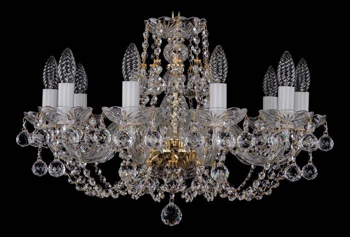 Фото Подвесная люстра Bohemia Ivele Crystal 1406 1406/10/195/G/Balls