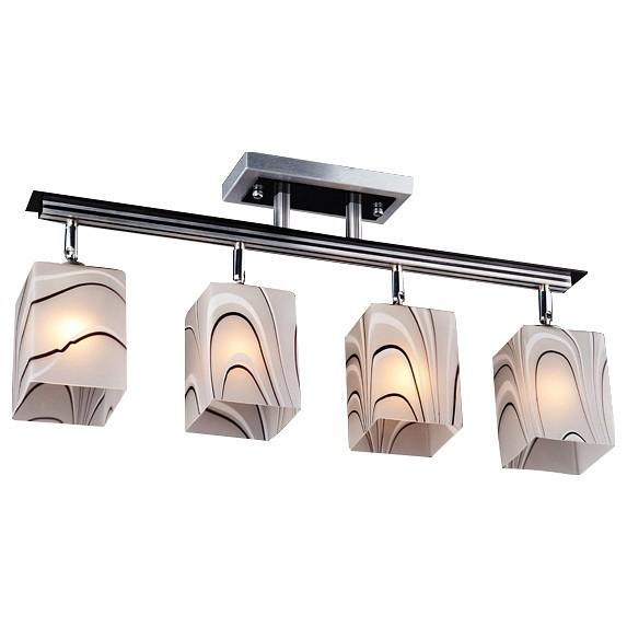 Люстра на штанге EurosvetЛюстры<br>Артикул - EV_60453,Бренд - Eurosvet (Китай),Коллекция - 3525,Гарантия, месяцы - 24,Длина, мм - 590,Ширина, мм - 280,Высота, мм - 250,Тип лампы - компактная люминесцентная [КЛЛ] ИЛИнакаливания ИЛИсветодиодная [LED],Общее кол-во ламп - 4,Напряжение питания лампы, В - 220,Максимальная мощность лампы, Вт - 60,Лампы в комплекте - отсутствуют,Цвет плафонов и подвесок - белый с рисунком,Тип поверхности плафонов - матовый,Материал плафонов и подвесок - стекло,Цвет арматуры - алюминий,Тип поверхности арматуры - глянцевый,Материал арматуры - металл,Количество плафонов - 4,Возможность подлючения диммера - можно, если установить лампу накаливания,Тип цоколя лампы - E27,Класс электробезопасности - I,Общая мощность, Вт - 240,Степень пылевлагозащиты, IP - 20,Диапазон рабочих температур - комнатная температура,Дополнительные параметры - способ крепления светильника к потолку – на монтажной пластине<br>