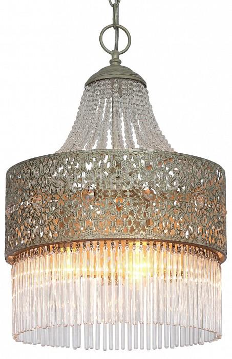 Подвесной светильник FavouriteСветодиодные<br>Артикул - FV_1631-3P,Бренд - Favourite (Германия),Коллекция - Karavan,Гарантия, месяцы - 24,Высота, мм - 440-1260,Диаметр, мм - 305,Тип лампы - компактная люминесцентная [КЛЛ] ИЛИнакаливания ИЛИсветодиодная [LED],Общее кол-во ламп - 3,Напряжение питания лампы, В - 220,Максимальная мощность лампы, Вт - 40,Лампы в комплекте - отсутствуют,Цвет плафонов и подвесок - неокрашенный, слоновая кость с позолотой,Тип поверхности плафонов - матовый, прозрачный, рельефный,Материал плафонов и подвесок - металл, стекло,Цвет арматуры - слоновая кость с позолотой,Тип поверхности арматуры - матовый,Материал арматуры - металл,Количество плафонов - 1,Возможность подлючения диммера - можно, если установить лампу накаливания,Тип цоколя лампы - E14,Класс электробезопасности - I,Общая мощность, Вт - 120,Степень пылевлагозащиты, IP - 20,Диапазон рабочих температур - комнатная температура,Дополнительные параметры - способ крепления светильника к потолку - на монтажной пластине, регулируется по высоте<br>