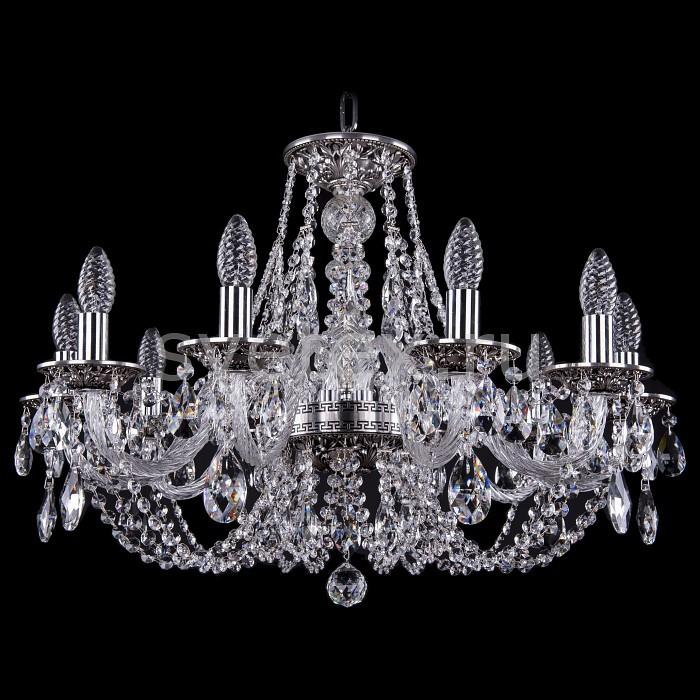 Фото Подвесная люстра Bohemia Ivele Crystal 1606 1606/10/240/NB