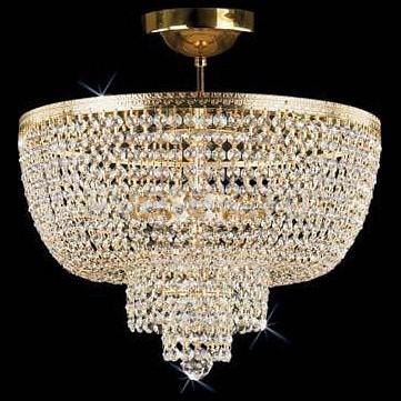 Люстра на штанге Preciosa5 или 6 ламп<br>Артикул - PR_45075700507000201,Бренд - Preciosa (Чехия),Коллекция - Brilliant,Гарантия, месяцы - 24,Время изготовления, дней - 1,Высота, мм - 410,Диаметр, мм - 375,Тип лампы - компактная люминесцентная [КЛЛ] ИЛИнакаливания ИЛИсветодиодная [LED],Общее кол-во ламп - 5,Напряжение питания лампы, В - 220,Максимальная мощность лампы, Вт - 40,Лампы в комплекте - отсутствуют,Цвет плафонов и подвесок - неокрашенный,Тип поверхности плафонов - прозрачный,Материал плафонов и подвесок - хрусталь Standard,Цвет арматуры - латунь,Тип поверхности арматуры - глянцевый,Материал арматуры - металл,Возможность подлючения диммера - можно, если установить лампу накаливания,Тип цоколя лампы - E14,Класс электробезопасности - I,Общая мощность, Вт - 200,Степень пылевлагозащиты, IP - 20,Диапазон рабочих температур - комнатная температура<br>