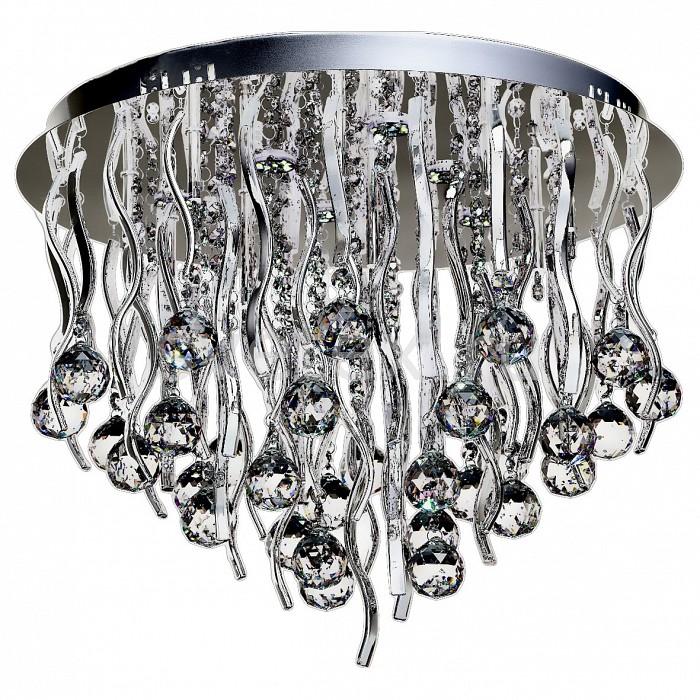Накладной светильник ChiaroНакладные светильники<br>Артикул - CH_464016518,Бренд - Chiaro (Германия),Коллекция - Бриз,Гарантия, месяцы - 24,Высота, мм - 400,Диаметр, мм - 520,Тип лампы - галогеновая,Общее кол-во ламп - 12,Напряжение питания лампы, В - 12,Максимальная мощность лампы, Вт - 20,Цвет лампы - белый теплый,Лампы в комплекте - галогеновые G4,Цвет плафонов и подвесок - неокрашенный,Тип поверхности плафонов - прозрачный,Материал плафонов и подвесок - хрусталь,Цвет арматуры - хром,Тип поверхности арматуры - глянцевый,Материал арматуры - металл,Наличие выключателя, диммера или пульта ДУ - пульт ДУ,Компоненты, входящие в комплект - трансформатор 12В,Форма и тип колбы - пальчиковая,Тип цоколя лампы - G4,Цветовая температура, K - 3200 K,Световой поток, лм - 1980,Класс электробезопасности - I,Напряжение питания, В - 220,Общая мощность, Вт - 240,Степень пылевлагозащиты, IP - 20,Диапазон рабочих температур - комнатная температура,Дополнительные параметры - способ крепления светильника к потолку - на монтажной пластине, светильник декорирован 6 светодиодами (6500 K ) общей мощностью 18 Вт<br>