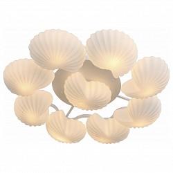 Потолочная люстра ST-LuceБолее 6 ламп<br>Артикул - SL534.502.09,Бренд - ST-Luce (Китай),Коллекция - Conglia,Гарантия, месяцы - 24,Высота, мм - 200,Диаметр, мм - 1050,Размер упаковки, мм - 860x780x480,Тип лампы - компактная люминесцентная [КЛЛ] ИЛИнакаливания ИЛИсветодиодная [LED],Общее кол-во ламп - 9,Напряжение питания лампы, В - 220,Максимальная мощность лампы, Вт - 60,Лампы в комплекте - отсутствуют,Цвет плафонов и подвесок - белый,Тип поверхности плафонов - матовый,Материал плафонов и подвесок - стекло,Цвет арматуры - белый,Тип поверхности арматуры - матовый,Материал арматуры - металл,Возможность подлючения диммера - можно, если установить лампу накаливания,Тип цоколя лампы - E27,Класс электробезопасности - I,Общая мощность, Вт - 540,Степень пылевлагозащиты, IP - 20,Диапазон рабочих температур - комнатная температура,Дополнительные параметры - способ крепления светильника к потолку - на монтажной пластине<br>