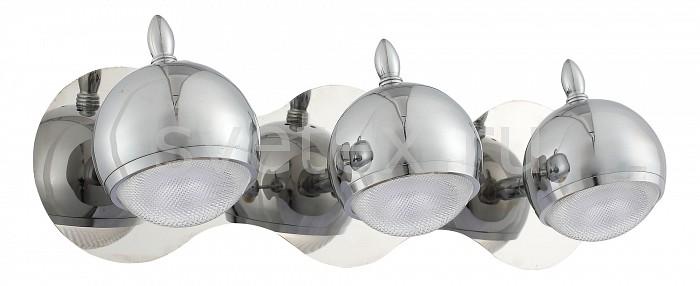 Спот ST-LuceСпоты<br>Артикул - SL570.101.03,Бренд - ST-Luce (Италия),Коллекция - Polo,Гарантия, месяцы - 24,Длина, мм - 430,Ширина, мм - 120,Выступ, мм - 160,Размер упаковки, мм - 960x490x210,Тип лампы - светодиодная [LED],Общее кол-во ламп - 3,Максимальная мощность лампы, Вт - 3,Цвет лампы - белый,Лампы в комплекте - светодиодные [LED],Цвет плафонов и подвесок - хром,Тип поверхности плафонов - глянцевый,Материал плафонов и подвесок - металл,Цвет арматуры - хром,Тип поверхности арматуры - глянцевый,Материал арматуры - металл,Количество плафонов - 3,Возможность подлючения диммера - нельзя,Цветовая температура, K - 3500 K,Экономичнее лампы накаливания - в 10 раз,Класс электробезопасности - I,Напряжение питания, В - 220,Общая мощность, Вт - 9,Степень пылевлагозащиты, IP - 20,Диапазон рабочих температур - комнатная температура,Дополнительные параметры - способ крепления светильника на стене – на монтажной пластине, светильник предназначен для использования со скрытой проводкой, поворотный светильник<br>
