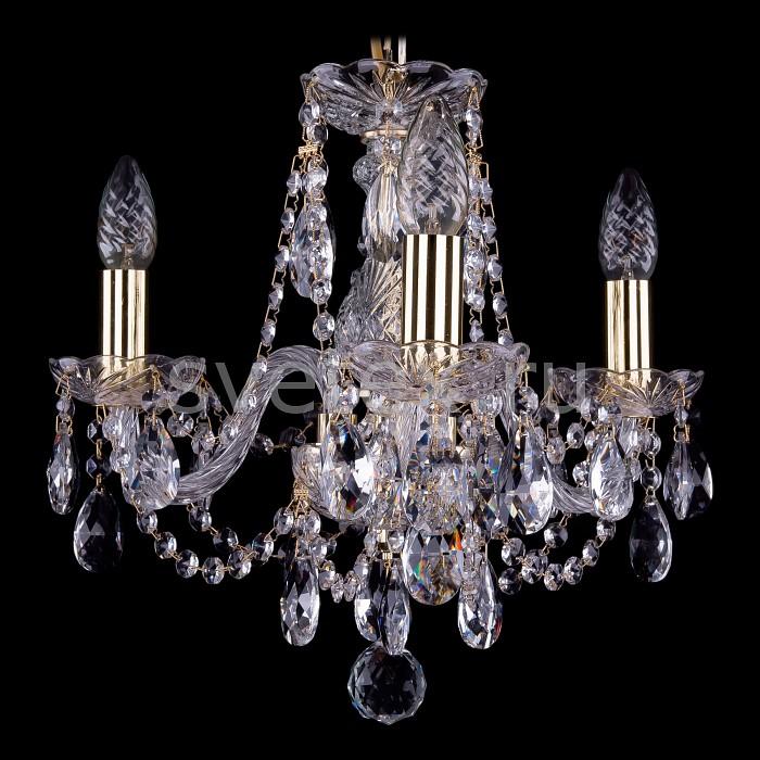 Фото Подвесная люстра Bohemia Ivele Crystal 1406 1406/3/141/G