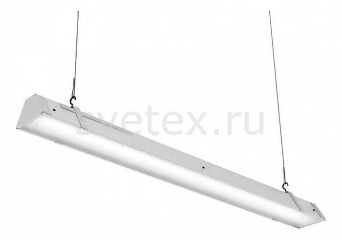 Подвесной светильник Led EffectСветильники<br>Артикул - LED_386438,Бренд - Led Effect (Россия),Коллекция - Ритейл,Гарантия, месяцы - 36,Длина, мм - 965,Ширина, мм - 113,Высота, мм - 111,Размер упаковки, мм - 1080x130x90,Тип лампы - светодиодная [LED],Общее кол-во ламп - 1,Максимальная мощность лампы, Вт - 40,Цвет лампы - белый,Лампы в комплекте - светодиодная [LED],Цвет плафонов и подвесок - белый,Тип поверхности плафонов - матовый,Материал плафонов и подвесок - полимер,Цвет арматуры - белый,Тип поверхности арматуры - матовый,Материал арматуры - металл,Количество плафонов - 1,Цветовая температура, K - 4000 K,Световой поток, лм - 3200,Экономичнее лампы накаливания - В 5, 2 раза,Светоотдача, лм/Вт - 80,Ресурс лампы - 50 тыс. час.,Класс электробезопасности - I,Напряжение питания, В - 175-260,Коэффициент мощности - 0.9,Степень пылевлагозащиты, IP - 20,Диапазон рабочих температур - от -0^C до +45^C,Индекс цветопередачи, % - 80,Пульсации светового потока, % менее - 1,Климатическое исполнение - УХЛ 4,Дополнительные параметры - опаловый рассеиватель, указана высота светильника без подвеса<br>