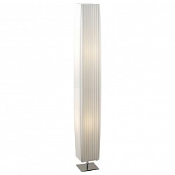 Торшер GloboТекстильный плафон<br>Артикул - GB_24662,Бренд - Globo (Австрия),Коллекция - Bailey,Гарантия, месяцы - 24,Высота, мм - 1190,Размер упаковки, мм - 1165x150x150,Тип лампы - компактная люминесцентная [КЛЛ] ИЛИнакаливания ИЛИсветодиодная [LED],Общее кол-во ламп - 2,Напряжение питания лампы, В - 220,Максимальная мощность лампы, Вт - 40,Лампы в комплекте - отсутствуют,Цвет плафонов и подвесок - белый,Тип поверхности плафонов - матовый,Материал плафонов и подвесок - текстиль,Цвет арматуры - хром,Тип поверхности арматуры - матовый,Материал арматуры - металл,Тип цоколя лампы - E27,Класс электробезопасности - I,Общая мощность, Вт - 80,Степень пылевлагозащиты, IP - 20,Диапазон рабочих температур - комнатная температура<br>