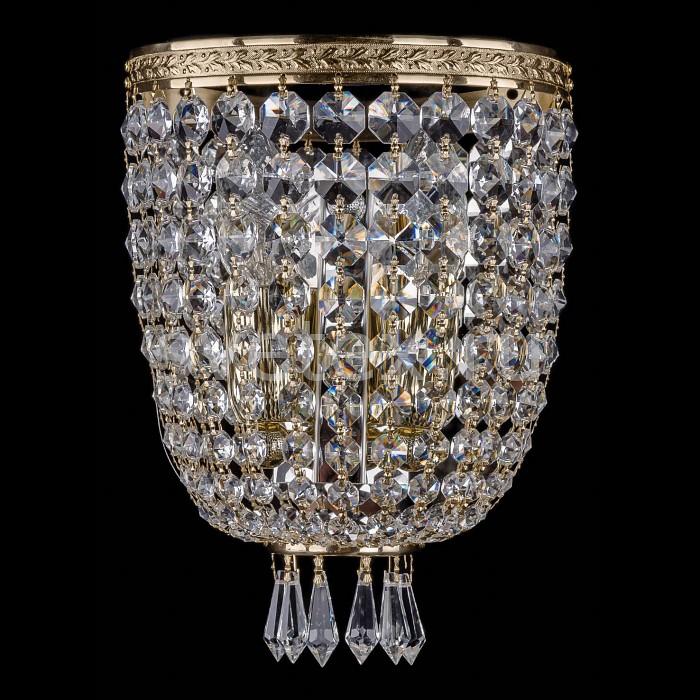 Фото Накладной светильник Bohemia Ivele Crystal 1927 1927/2/S/G