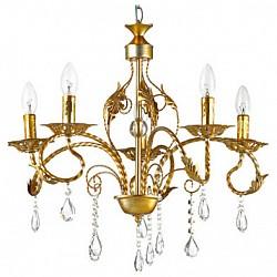 Подвесная люстра Lumion5 или 6 ламп<br>Артикул - LMN_3084_5,Бренд - Lumion (Италия),Коллекция - Mirina,Гарантия, месяцы - 24,Высота, мм - 900,Диаметр, мм - 580,Размер упаковки, мм - 160x370x280,Тип лампы - компактная люминесцентная [КЛЛ] ИЛИнакаливания ИЛИсветодиодная [LED],Общее кол-во ламп - 5,Напряжение питания лампы, В - 220,Максимальная мощность лампы, Вт - 40,Лампы в комплекте - отсутствуют,Цвет плафонов и подвесок - неокрашенный,Тип поверхности плафонов - прозрачный,Материал плафонов и подвесок - хрусталь,Цвет арматуры - золото с серебряной патиной,Тип поверхности арматуры - глянцевый, металлик, рельефный,Материал арматуры - металл,Возможность подлючения диммера - можно, если установить лампу накаливания,Форма и тип колбы - свеча ИЛИ свеча на ветру,Тип цоколя лампы - E14,Класс электробезопасности - I,Общая мощность, Вт - 200,Степень пылевлагозащиты, IP - 20,Диапазон рабочих температур - комнатная температура,Дополнительные параметры - способ крепления к потолку - на крюке, регулируется по высоте<br>