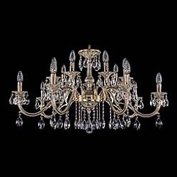 Подвесная люстра Bohemia Ivele CrystalБолее 6 ламп<br>Артикул - BI_1703_14_360_A_GW,Бренд - Bohemia Ivele Crystal (Чехия),Коллекция - 1703,Гарантия, месяцы - 12,Высота, мм - 600,Диаметр, мм - 1000,Размер упаковки, мм - 710x710x240,Тип лампы - компактная люминесцентная [КЛЛ] ИЛИнакаливания ИЛИсветодиодная [LED],Общее кол-во ламп - 14,Напряжение питания лампы, В - 220,Максимальная мощность лампы, Вт - 40,Лампы в комплекте - отсутствуют,Цвет плафонов и подвесок - неокрашенный,Тип поверхности плафонов - прозрачный,Материал плафонов и подвесок - хрусталь,Цвет арматуры - золото беленое,Тип поверхности арматуры - глянцевый, рельефный,Материал арматуры - металл,Возможность подлючения диммера - можно, если установить лампу накаливания,Форма и тип колбы - свеча ИЛИ свеча на ветру,Тип цоколя лампы - E14,Класс электробезопасности - I,Общая мощность, Вт - 560,Степень пылевлагозащиты, IP - 20,Диапазон рабочих температур - комнатная температура,Дополнительные параметры - способ крепления светильника к потолку – на крюке<br>