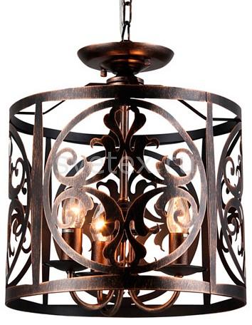 Подвесной светильник MaytoniСветодиодные<br>Артикул - MY_H899-03-R,Бренд - Maytoni (Германия),Коллекция - Rustika,Гарантия, месяцы - 24,Высота, мм - 430-930,Диаметр, мм - 360,Тип лампы - компактная люминесцентная [КЛЛ] ИЛИнакаливания ИЛИсветодиодная [LED],Общее кол-во ламп - 3,Напряжение питания лампы, В - 220,Максимальная мощность лампы, Вт - 60,Лампы в комплекте - отсутствуют,Цвет плафонов и подвесок - коричневый,Тип поверхности плафонов - матовый,Материал плафонов и подвесок - металл,Цвет арматуры - коричневый,Тип поверхности арматуры - матовый,Материал арматуры - металл,Количество плафонов - 1,Возможность подлючения диммера - можно, если установить лампу накаливания,Тип цоколя лампы - E14,Класс электробезопасности - I,Общая мощность, Вт - 180,Степень пылевлагозащиты, IP - 20,Диапазон рабочих температур - комнатная температура,Дополнительные параметры - способ крепления светильника к потолку – на крюке<br>