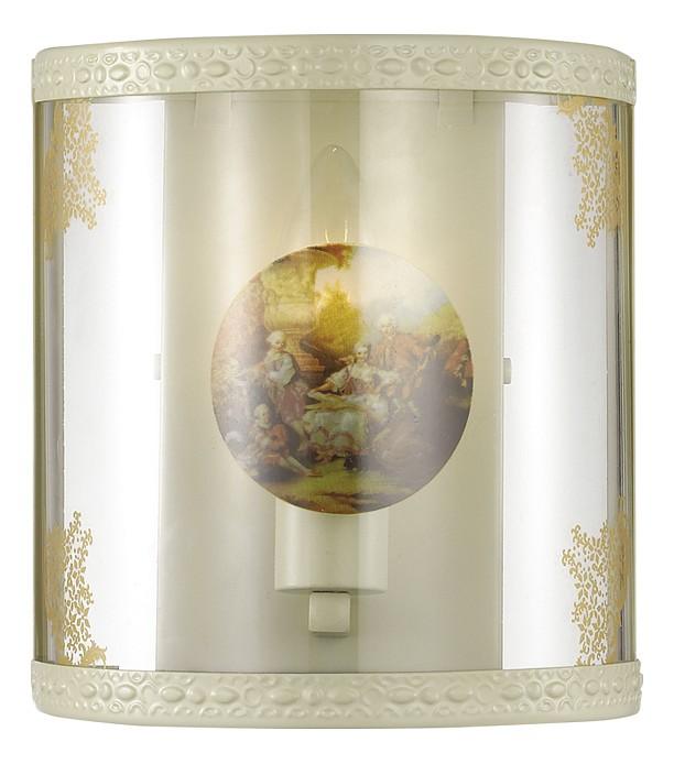 Накладной светильник Odeon LightСветодиодные<br>Артикул - OD_2874_1W,Бренд - Odeon Light (Италия),Коллекция - Kimona,Гарантия, месяцы - 24,Ширина, мм - 195,Высота, мм - 180,Выступ, мм - 90,Тип лампы - компактная люминесцентная [КЛЛ] ИЛИнакаливания ИЛИсветодиодная [LED],Общее кол-во ламп - 1,Напряжение питания лампы, В - 220,Максимальная мощность лампы, Вт - 40,Лампы в комплекте - отсутствуют,Цвет плафонов и подвесок - кремовый, неокрашенный,Тип поверхности плафонов - матовый, прозрачный,Материал плафонов и подвесок - стекло, пленка,Цвет арматуры - кремовый с золотой патиной,Тип поверхности арматуры - матовый, рельефный,Материал арматуры - маталл,Количество плафонов - 1,Возможность подлючения диммера - можно, если установить лампу накаливания,Тип цоколя лампы - E14,Класс электробезопасности - I,Степень пылевлагозащиты, IP - 20,Диапазон рабочих температур - комнатная температура,Дополнительные параметры - способ крепления светильника на стене – на монтажной пластине, светильник предназначен для использования со скрытой проводкой, светильник декорирован высокотемпературной пленкой с художественным изображением<br>
