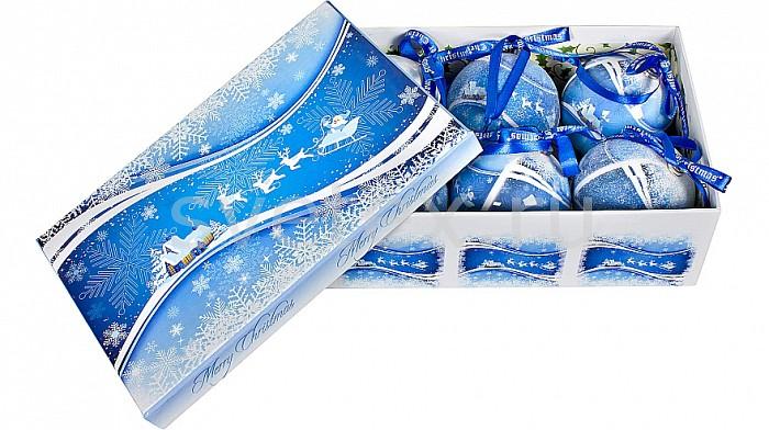 Елочный шар Mister ChristmasЕлочные игрушки<br>Артикул - MC_PM-40-6,Бренд - Mister Christmas (Россия),Коллекция - PM-40,Диаметр, мм - 75,Диаметр - 7.5 см,Цвет - синий,Материал - папье-маше<br>