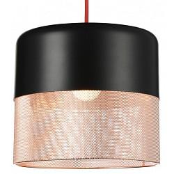 Подвесной светильник ST-LuceБарные<br>Артикул - SL976.403.01,Бренд - ST-Luce (Китай),Коллекция - SL976,Гарантия, месяцы - 24,Высота, мм - 275-1100,Диаметр, мм - 215,Размер упаковки, мм - 285х285х340,Тип лампы - компактная люминесцентная [КЛЛ] ИЛИнакаливания ИЛИсветодиодная [LED],Общее кол-во ламп - 1,Напряжение питания лампы, В - 220,Максимальная мощность лампы, Вт - 60,Лампы в комплекте - отсутствуют,Цвет плафонов и подвесок - медь, черный,Тип поверхности плафонов - матовый,Материал плафонов и подвесок - металл,Цвет арматуры - черный,Тип поверхности арматуры - матовый,Материал арматуры - металл,Возможность подлючения диммера - можно, если установить лампу накаливания,Тип цоколя лампы - E27,Класс электробезопасности - I,Степень пылевлагозащиты, IP - 20,Диапазон рабочих температур - комнатная температура,Дополнительные параметры - регулируется по высоте, способ крепления светильника к потолку – на монтажной пластине<br>