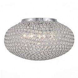 Накладной светильник ST-LuceКруглые<br>Артикул - SL753.102.08,Бренд - ST-Luce (Китай),Коллекция - SL753,Гарантия, месяцы - 24,Высота, мм - 300,Диаметр, мм - 500,Размер упаковки, мм - 170х550х550,Тип лампы - компактная люминесцентная [КЛЛ] ИЛИнакаливания ИЛИсветодиодная [LED],Общее кол-во ламп - 8,Напряжение питания лампы, В - 220,Максимальная мощность лампы, Вт - 40,Лампы в комплекте - отсутствуют,Цвет плафонов и подвесок - неокрашенный,Тип поверхности плафонов - прозрачный,Материал плафонов и подвесок - хрусталь,Цвет арматуры - хром,Тип поверхности арматуры - глянцевый,Материал арматуры - металл,Возможность подлючения диммера - можно, если установить лампу накаливания,Тип цоколя лампы - E14,Класс электробезопасности - I,Общая мощность, Вт - 320,Степень пылевлагозащиты, IP - 20,Диапазон рабочих температур - комнатная температура,Дополнительные параметры - способ крепления светильника к потолку - на монтажной пластине<br>