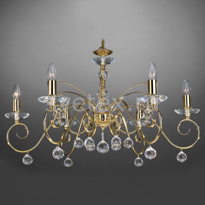 Подвесная люстра La Lampada5 или 6 ламп<br>Артикул - LL_L.2331-6.26,Бренд - La Lampada (Италия),Коллекция - 2331,Гарантия, месяцы - 24,Высота, мм - 440,Диаметр, мм - 760,Тип лампы - компактная люминесцентная [КЛЛ] ИЛИнакаливания ИЛИсветодиодная [LED],Общее кол-во ламп - 6,Напряжение питания лампы, В - 220,Максимальная мощность лампы, Вт - 60,Лампы в комплекте - отсутствуют,Цвет плафонов и подвесок - неокрашенный,Тип поверхности плафонов - прозрачный,Материал плафонов и подвесок - хрусталь,Цвет арматуры - золото, неокрашенный,Тип поверхности арматуры - глянцевый, прозрачный,Материал арматуры - металл, стекло,Возможность подлючения диммера - можно, если установить лампу накаливания,Форма и тип колбы - свеча ИЛИ свеча на ветру,Тип цоколя лампы - E14,Класс электробезопасности - I,Общая мощность, Вт - 360,Степень пылевлагозащиты, IP - 20,Диапазон рабочих температур - комнатная температура,Дополнительные параметры - способ крепления светильника к потолку – на крюке, регулируется по высоте<br>