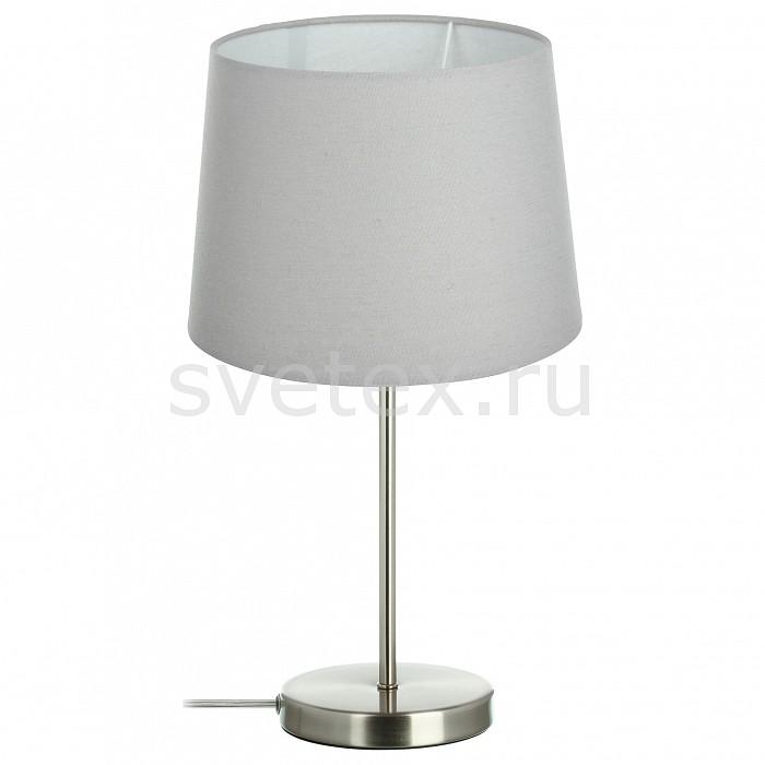 Настольная лампа 33 идеиС абажуром<br>Артикул - ZZ_TLL.202.01.01.NI-CO1.T004,Бренд - 33 идеи (Россия),Коллекция - NI_T004,Высота, мм - 450,Диаметр, мм - 240,Размер упаковки, мм - 180x240, 140x360x60,Тип лампы - компактная люминесцентная [КЛЛ] ИЛИнакаливания ИЛИсветодиодная [LED],Общее кол-во ламп - 1,Напряжение питания лампы, В - 220,Максимальная мощность лампы, Вт - 75,Лампы в комплекте - отсутствуют,Цвет плафонов и подвесок - фиолетовый,Тип поверхности плафонов - матовый,Материал плафонов и подвесок - текстиль,Цвет арматуры - никель,Тип поверхности арматуры - матовый,Материал арматуры - металл,Количество плафонов - 1,Наличие выключателя, диммера или пульта ДУ - выключатель на проводе,Компоненты, входящие в комплект - провод электропитания с вилкой без заземления,Тип цоколя лампы - E27,Класс электробезопасности - II,Степень пылевлагозащиты, IP - 20,Диапазон рабочих температур - комнатная температура,Дополнительные параметры - диаметр основания светильника 140 мм<br>