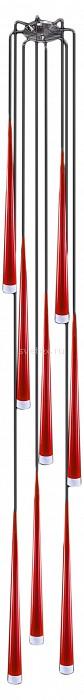 Подвесной светильник LightstarБарные<br>Артикул - LS_807082,Бренд - Lightstar (Италия),Коллекция - Punto,Гарантия, месяцы - 24,Высота, мм - 700-2250,Диаметр, мм - 350,Тип лампы - галогеновая ИЛИсветодиодная [LED],Общее кол-во ламп - 8,Напряжение питания лампы, В - 220,Максимальная мощность лампы, Вт - 40,Лампы в комплекте - отсутствуют,Цвет плафонов и подвесок - белый, красный,Тип поверхности плафонов - матовый,Материал плафонов и подвесок - металл, стекло,Цвет арматуры - хром,Тип поверхности арматуры - глянцевый,Материал арматуры - металл,Количество плафонов - 8,Возможность подлючения диммера - можно, если установить галогеновую лампу,Форма и тип колбы - пальчиковая,Тип цоколя лампы - G9,Класс электробезопасности - I,Общая мощность, Вт - 320,Степень пылевлагозащиты, IP - 20,Диапазон рабочих температур - комнатная температура,Дополнительные параметры - способ крепления светильника к потолку - на монтажной пластине, регулируется по высоте<br>