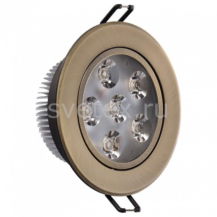 Фото Встраиваемый светильник MW-Light Круз 637013106