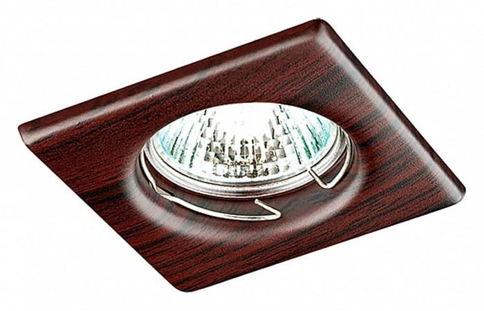 Фото Встраиваемый светильник Novotech Wood 369718