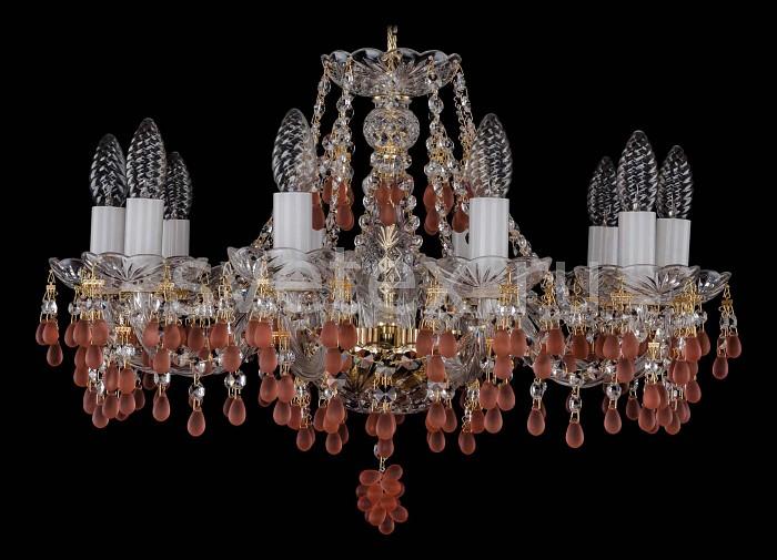 Фото Подвесная люстра Bohemia Ivele Crystal 1410 1410/10/195/G/7010