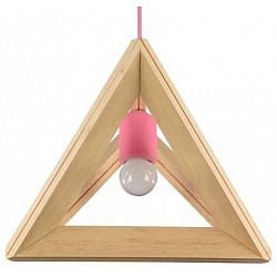 Подвесной светильник MaytoniДеревянные<br>Артикул - MY_MOD110-01-PK,Бренд - Maytoni (Германия),Коллекция - Pyramide,Гарантия, месяцы - 24,Высота, мм - 240,Размер упаковки, мм - 320x280x280,Тип лампы - компактная люминесцентная [КЛЛ] ИЛИнакаливания ИЛИсветодиодная [LED],Общее кол-во ламп - 1,Напряжение питания лампы, В - 220,Максимальная мощность лампы, Вт - 60,Лампы в комплекте - отсутствуют,Цвет плафонов и подвесок - бук,Тип поверхности плафонов - матовый,Материал плафонов и подвесок - дерево,Цвет арматуры - бук, розовый,Тип поверхности арматуры - глянцевый, матовый,Материал арматуры - дерево, металл,Возможность подлючения диммера - можно, если установить лампу накаливания,Тип цоколя лампы - E27,Класс электробезопасности - I,Степень пылевлагозащиты, IP - 20,Диапазон рабочих температур - комнатная температура,Дополнительные параметры - способ крепления светильника к потолку - на монтажной пластине, регулируется по высоте<br>