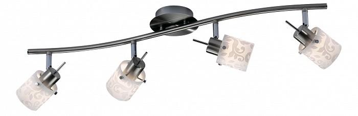 Спот Odeon LightСпоты<br>Артикул - OD_2076_4W,Бренд - Odeon Light (Италия),Коллекция - Terbo,Гарантия, месяцы - 24,Время изготовления, дней - 1,Длина, мм - 740,Выступ, мм - 135,Тип лампы - галогеновая,Общее кол-во ламп - 4,Напряжение питания лампы, В - 220,Максимальная мощность лампы, Вт - 40,Цвет лампы - белый теплый,Лампы в комплекте - галогеновые G9,Цвет плафонов и подвесок - белый с серым рисунком,Тип поверхности плафонов - матовый,Материал плафонов и подвесок - стекло,Цвет арматуры - никель,Тип поверхности арматуры - глянцевый,Материал арматуры - металл,Количество плафонов - 4,Возможность подлючения диммера - можно,Форма и тип колбы - пальчиковая,Тип цоколя лампы - G9,Цветовая температура, K - 2800 - 3200 K,Экономичнее лампы накаливания - на 50%,Класс электробезопасности - I,Общая мощность, Вт - 160,Степень пылевлагозащиты, IP - 20,Диапазон рабочих температур - комнатная температура,Дополнительные параметры - поворотный светильник<br>