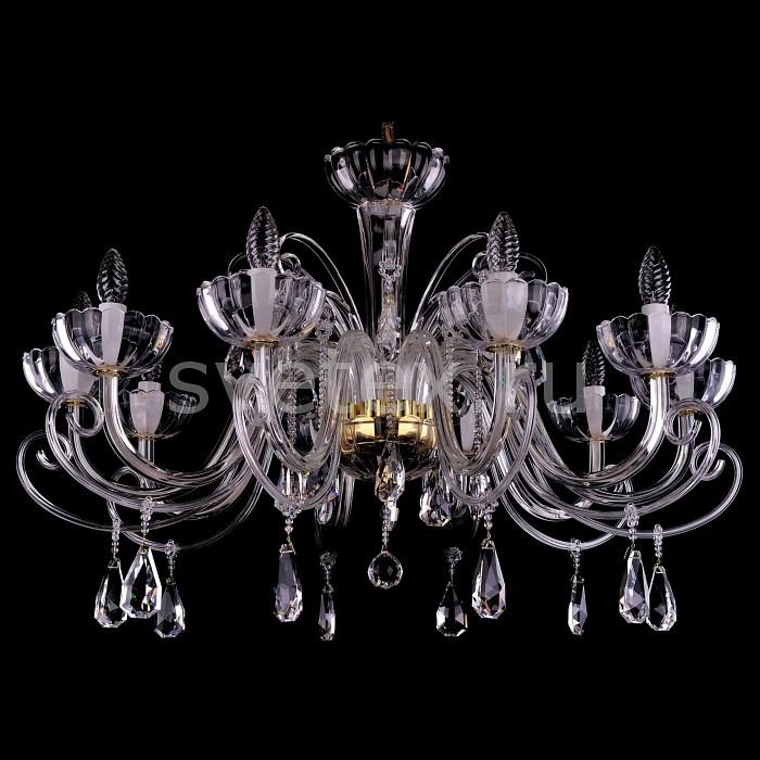 Фото Подвесная люстра Bohemia Ivele Crystal 1333 1333/10/380/G