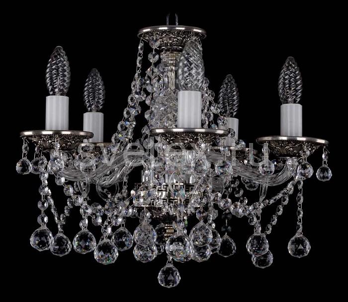 Фото Подвесная люстра Bohemia Ivele Crystal 1613 1613/5/141/NB/Balls