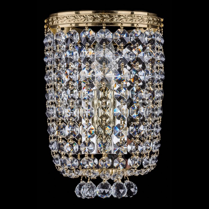 Фото Накладной светильник Bohemia Ivele Crystal 1928 1928/1/S/G