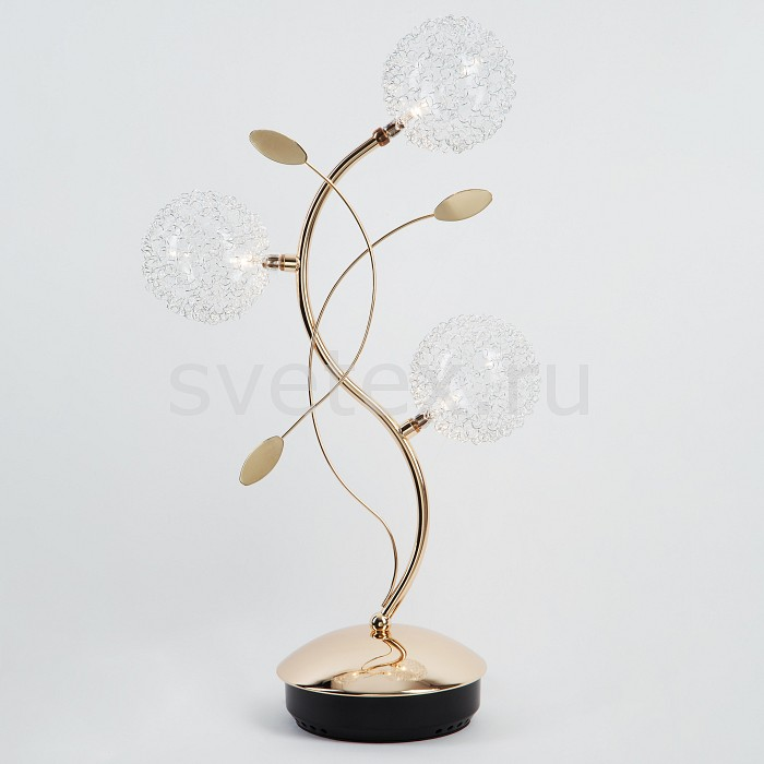 Фото Настольная лампа Eurosvet G4 12В 20Вт 2800-3200 K 4800 4800/3 золото наст. лампа
