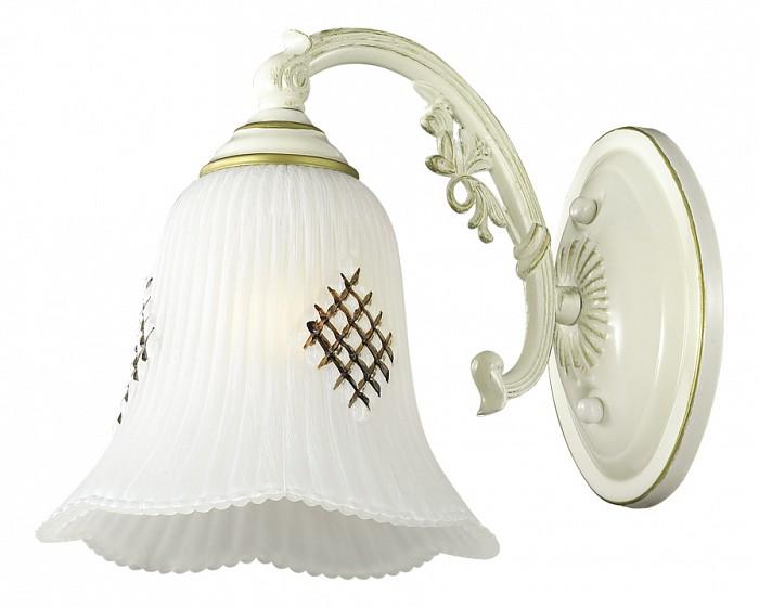 Бра Odeon LightНастенные светильники<br>Артикул - OD_2946_1W,Бренд - Odeon Light (Италия),Коллекция - Savona,Гарантия, месяцы - 24,Ширина, мм - 160,Высота, мм - 200,Выступ, мм - 250,Тип лампы - компактная люминесцентная [КЛЛ] ИЛИнакаливания ИЛИсветодиодная [LED],Общее кол-во ламп - 1,Напряжение питания лампы, В - 220,Максимальная мощность лампы, Вт - 60,Лампы в комплекте - отсутствуют,Цвет плафонов и подвесок - белый с рисунком,Тип поверхности плафонов - матовый, рельефный,Материал плафонов и подвесок - стекло,Цвет арматуры - белый, золото,Тип поверхности арматуры - матовый,Материал арматуры - металл,Количество плафонов - 1,Возможность подлючения диммера - можно, если установить лампу накаливания,Тип цоколя лампы - E27,Класс электробезопасности - I,Степень пылевлагозащиты, IP - 20,Диапазон рабочих температур - комнатная температура,Дополнительные параметры - способ крепления светильника на стене – на монтажной пластине, светильник предназначен для использования со скрытой проводкой<br>