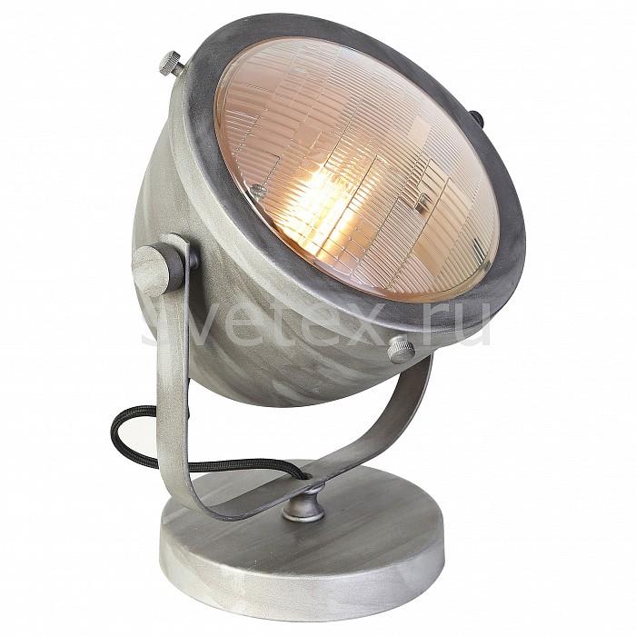 Настольная лампа декоративная Favouriteприкроватные светильники для спальни купить<br>Артикул - FV_1900-1T,Бренд - Favourite (Германия),Коллекция - Emitter,Гарантия, месяцы - 24,Ширина, мм - 210,Высота, мм - 260,Выступ, мм - 310,Тип лампы - компактная люминесцентная [КЛЛ] ИЛИнакаливания ИЛИсветодиодная [LED],Общее кол-во ламп - 1,Напряжение питания лампы, В - 220,Максимальная мощность лампы, Вт - 60,Лампы в комплекте - отсутствуют,Цвет плафонов и подвесок - цементный,Тип поверхности плафонов - матовый,Материал плафонов и подвесок - металл,Цвет арматуры - цементный,Тип поверхности арматуры - матовый,Материал арматуры - металл,Количество плафонов - 1,Компоненты, входящие в комплект - провод электропитания с заземленной вилкой,Тип цоколя лампы - E27,Класс электробезопасности - II,Степень пылевлагозащиты, IP - 20,Диапазон рабочих температур - комнатная температура,Дополнительные параметры - поворотный светильник<br>