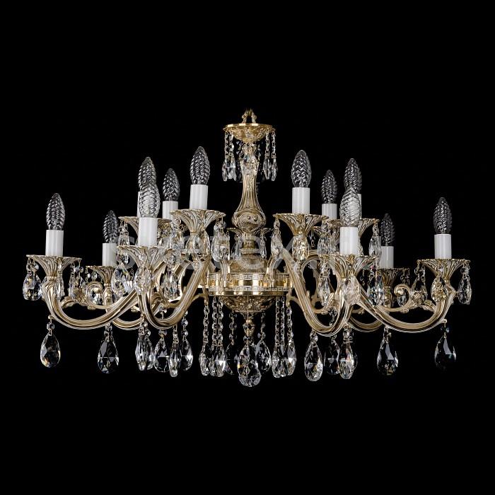 Фото Подвесная люстра Bohemia Ivele Crystal 1703 1703/14/A/GW